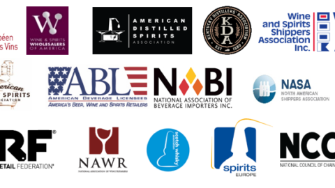 U.S., EU and UK Beverage Alcohol Associations Call for  Immediate Suspension of Tariffs on Spirits and Wine